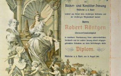 Urkunde Robert Röntgen
