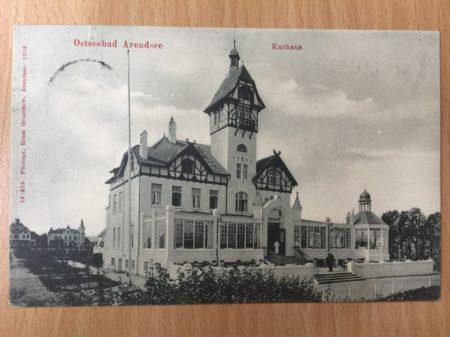 Café Röntgen Meeresblick um 1900
