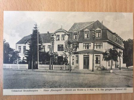 Café Röntgen Stammhaus um 1900