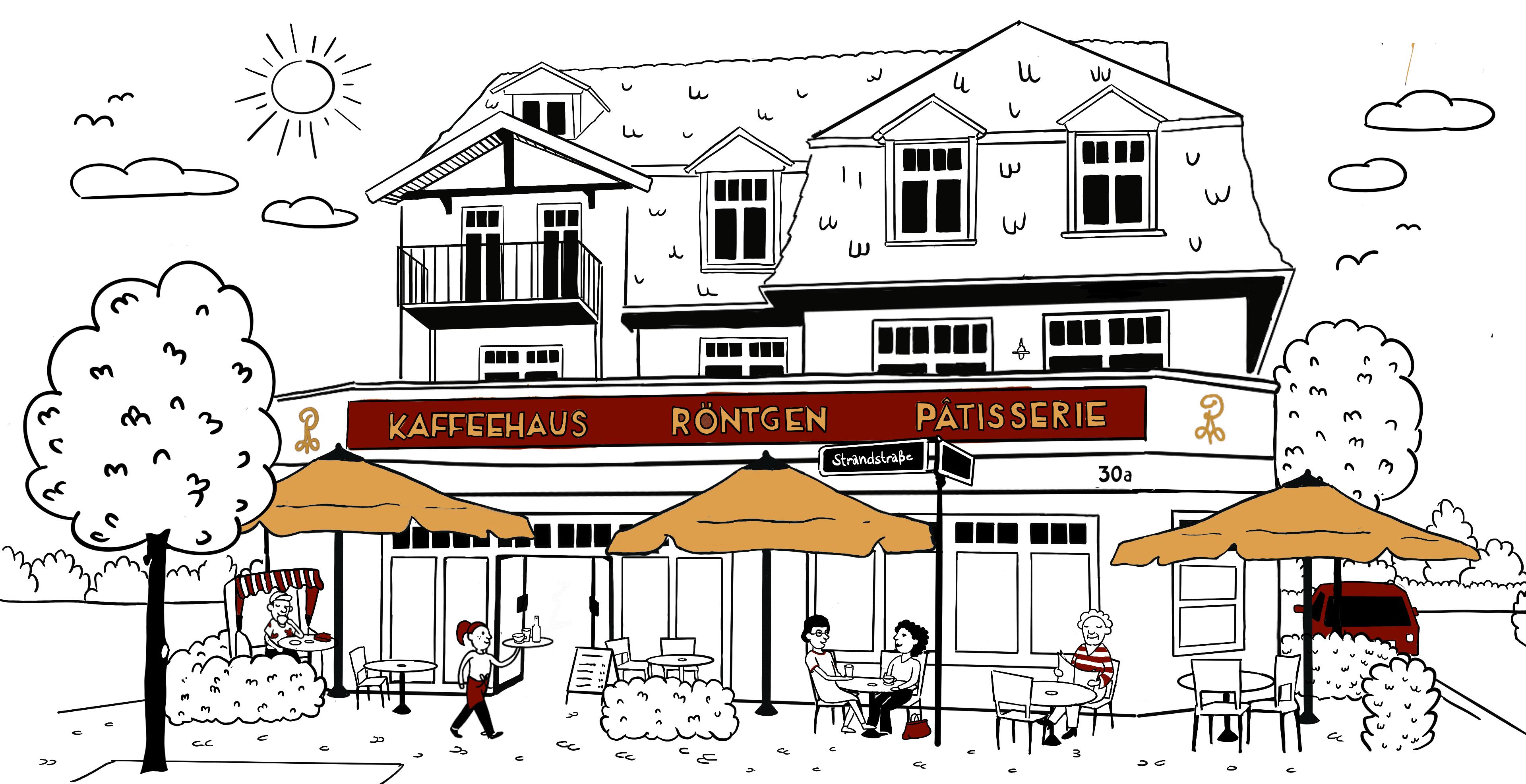 Stammhaus Zeichnung